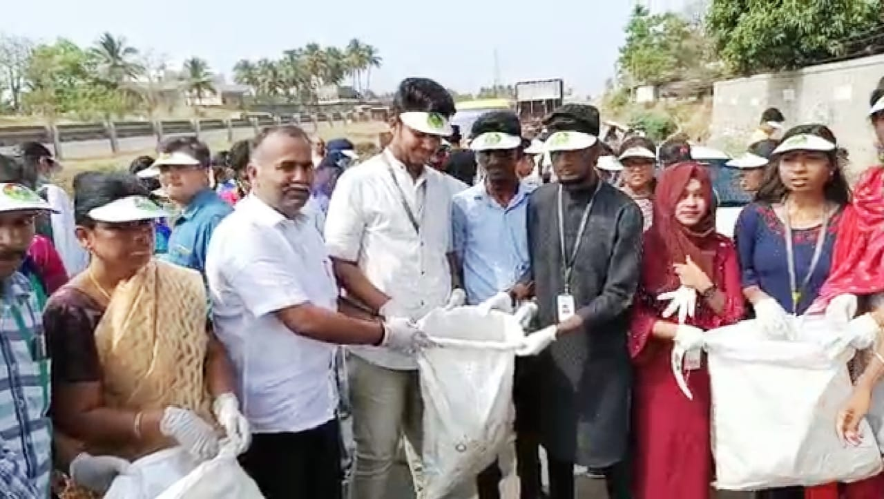 Joining hands with other NGO's for a common cause